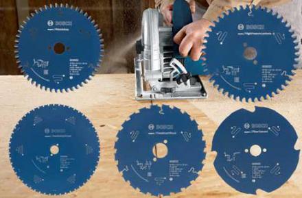 Piły tarczowe Bosch Expert do nowych materiałów stosowanych w budownictwie