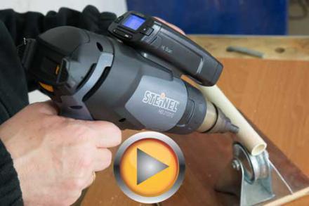 Test opalarki Steinel HG 2120 E i pirometru HL Scan