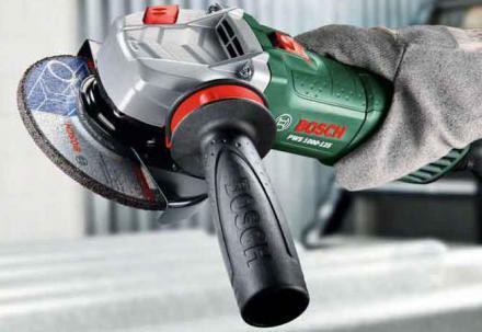 Szlifierki kątowe Bosch z linii Expert: PWS 1000-125, PWS 1000-125 CE i PWS 1300-125 CE